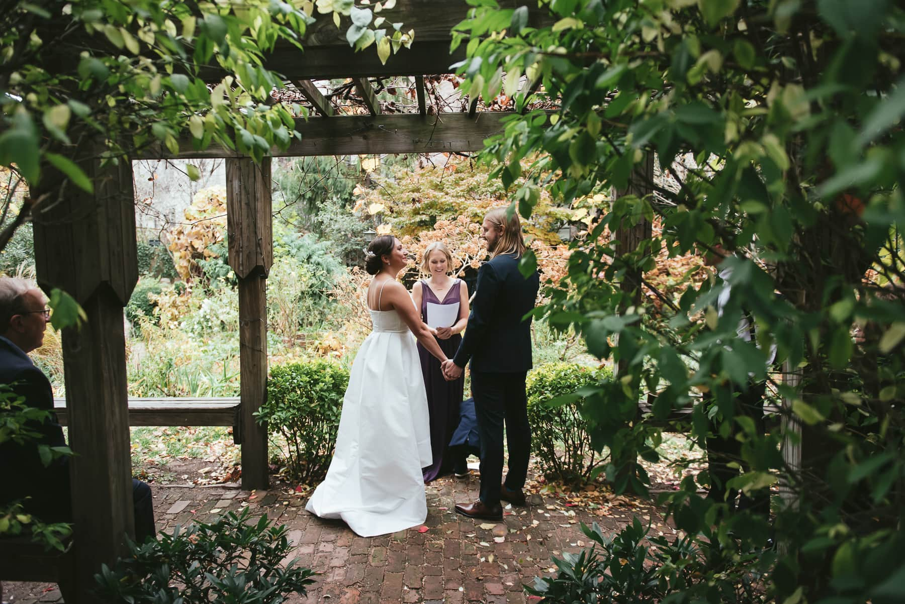 East Village 6BC botanical garden wedding