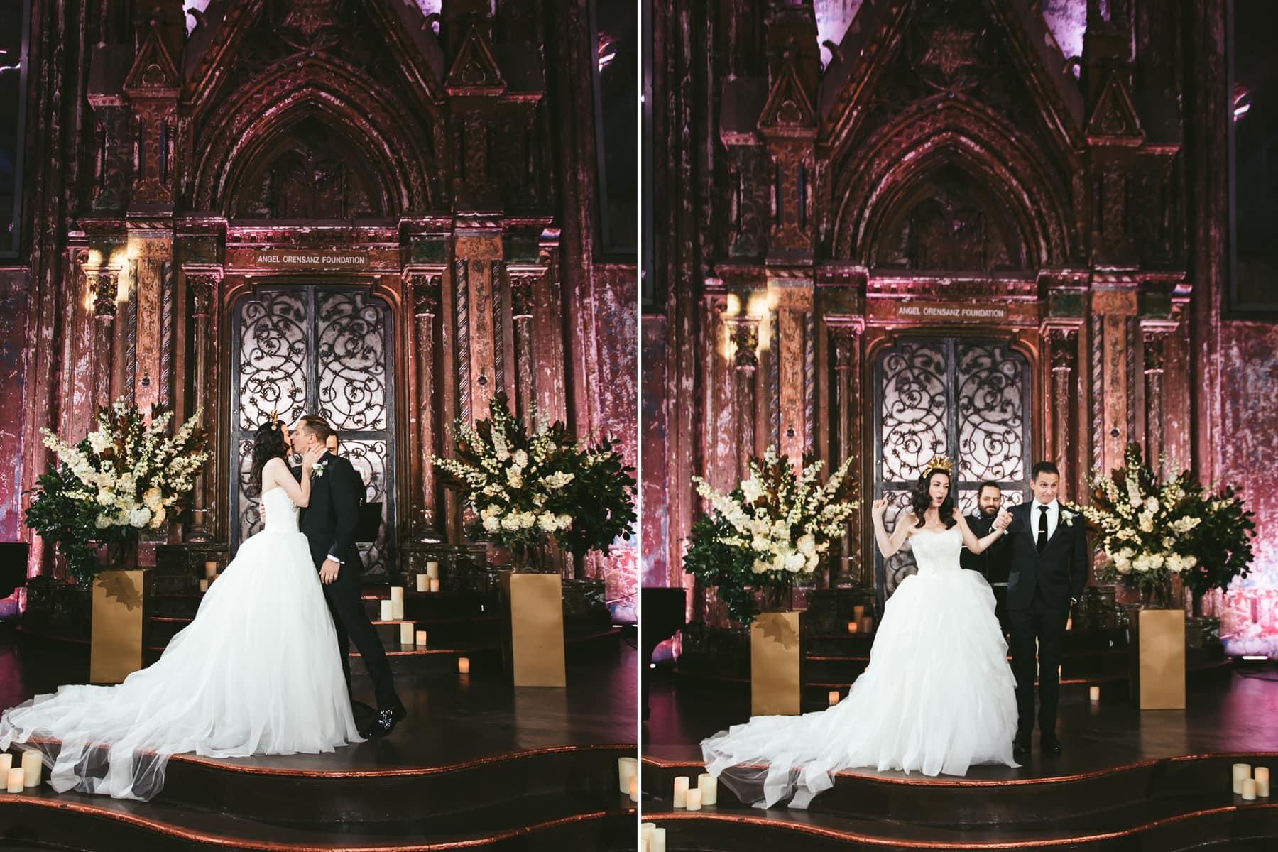 Angel Orensanz Foundation Wedding phtographer