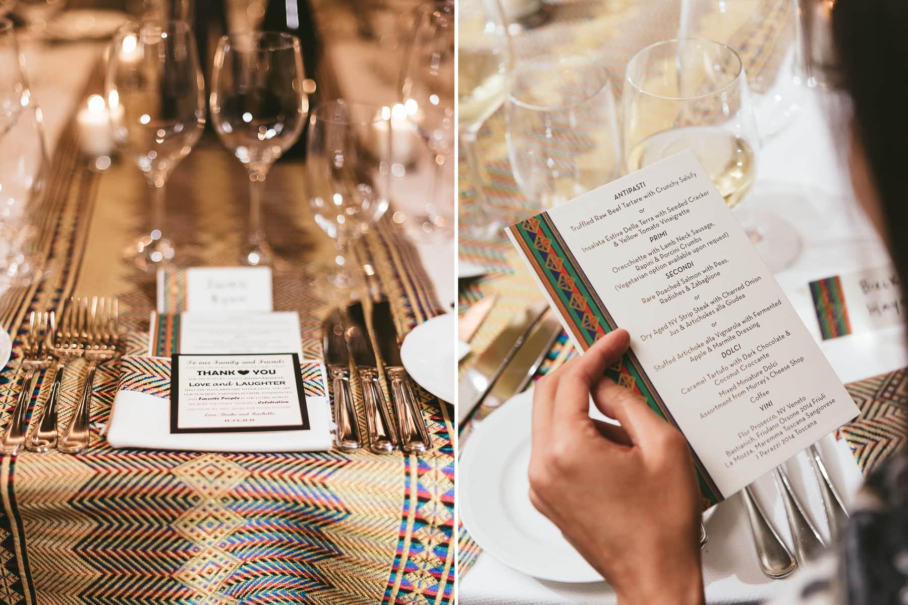 Del posto Restaurant wedding photos