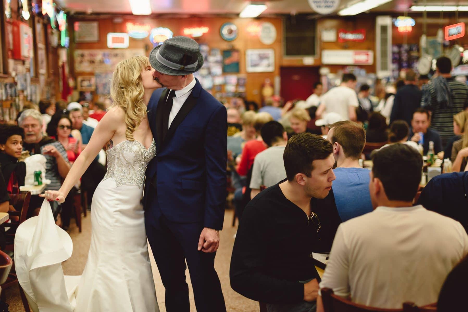 Katz's Delicatessen wedding | East Village