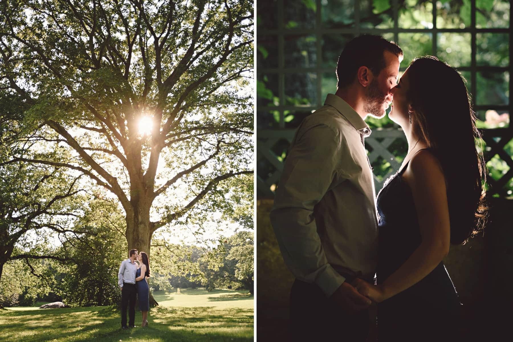 Planting Fields engagement session