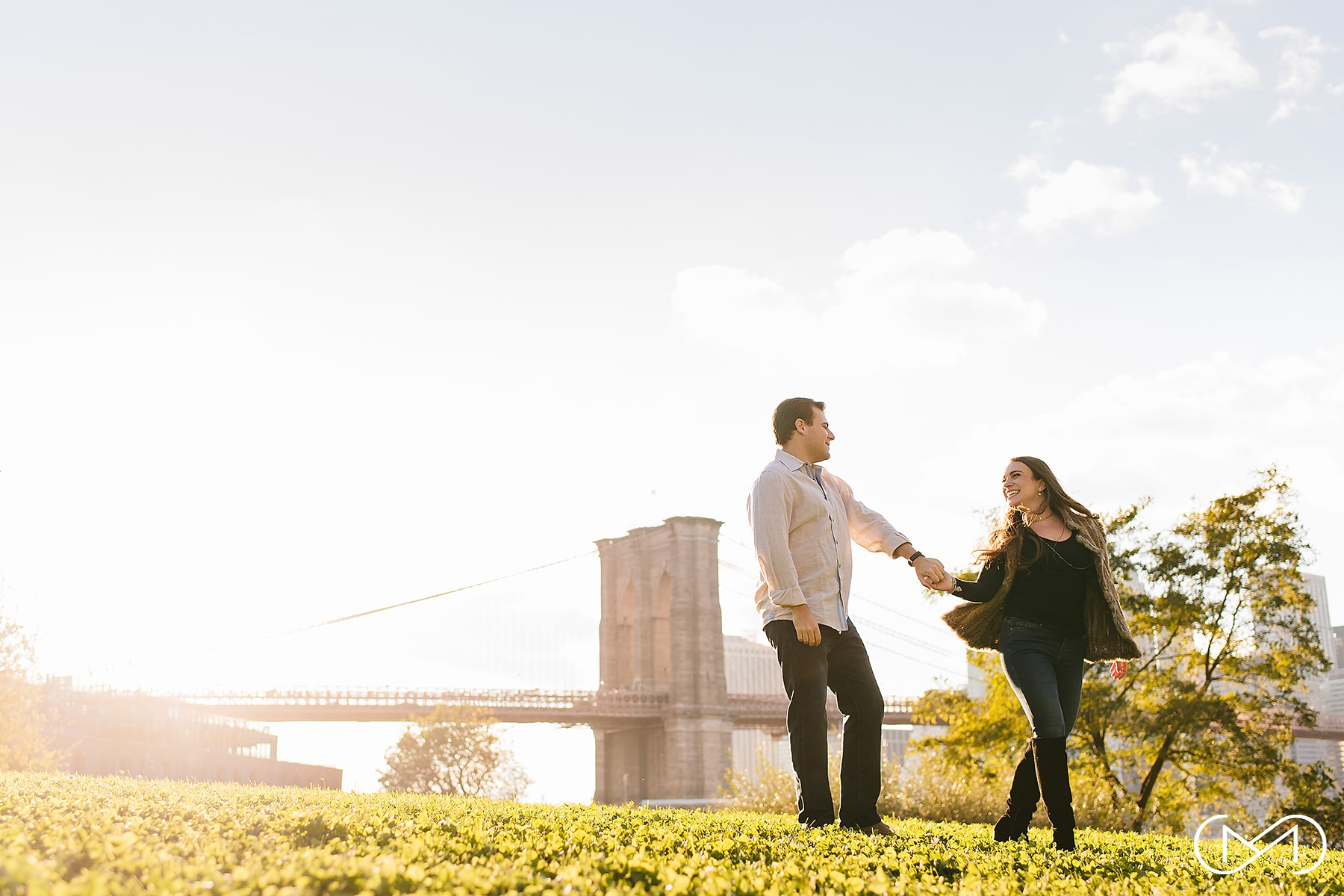 Brooklyn Bridge Park engagement session