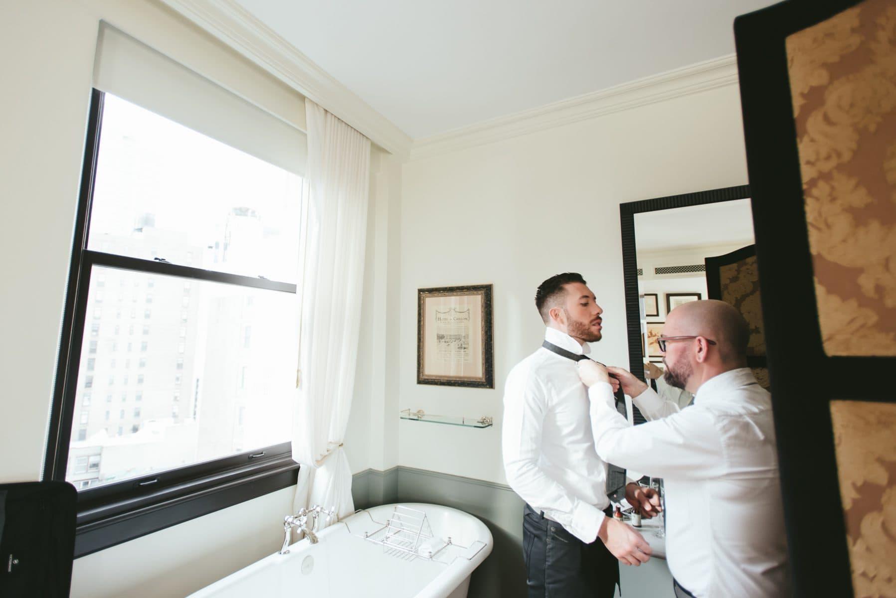 The Nomad Hotel wedding