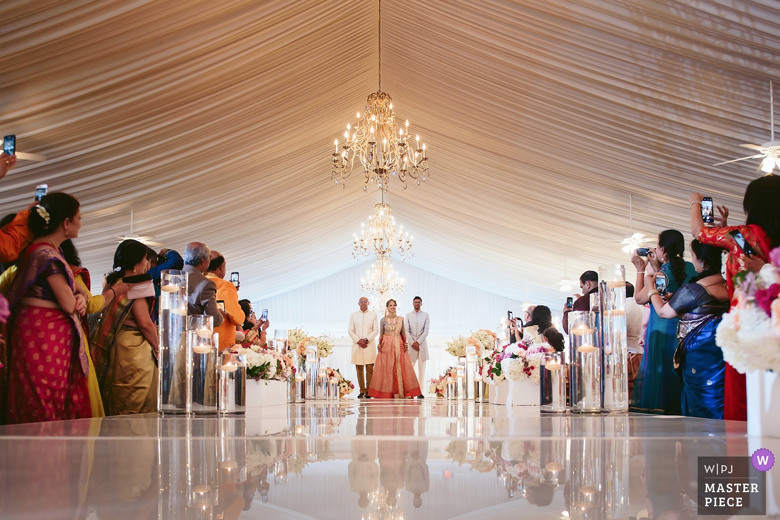Award winning image from Indian wedding in hudson Valley