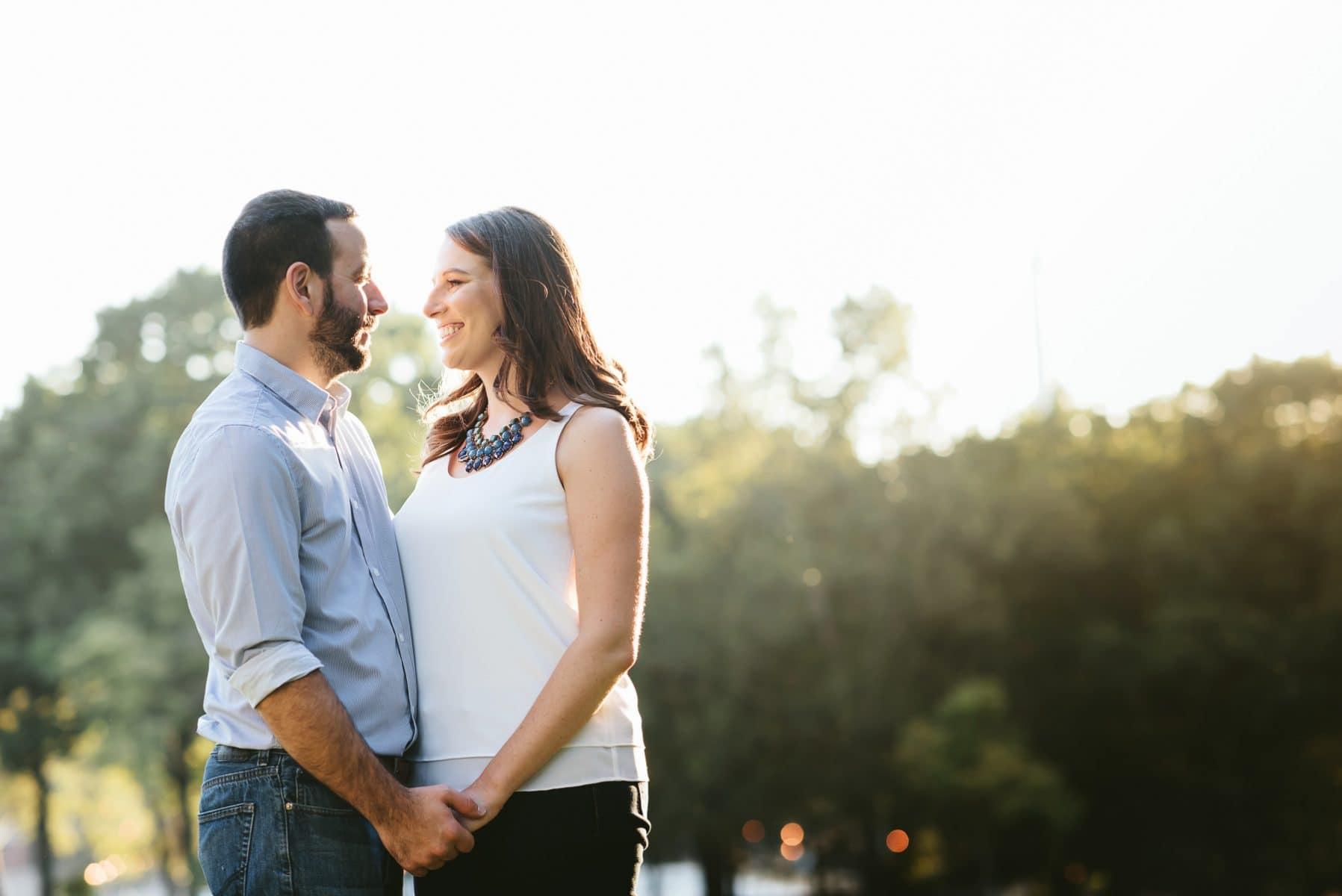 Astoria park engagement session