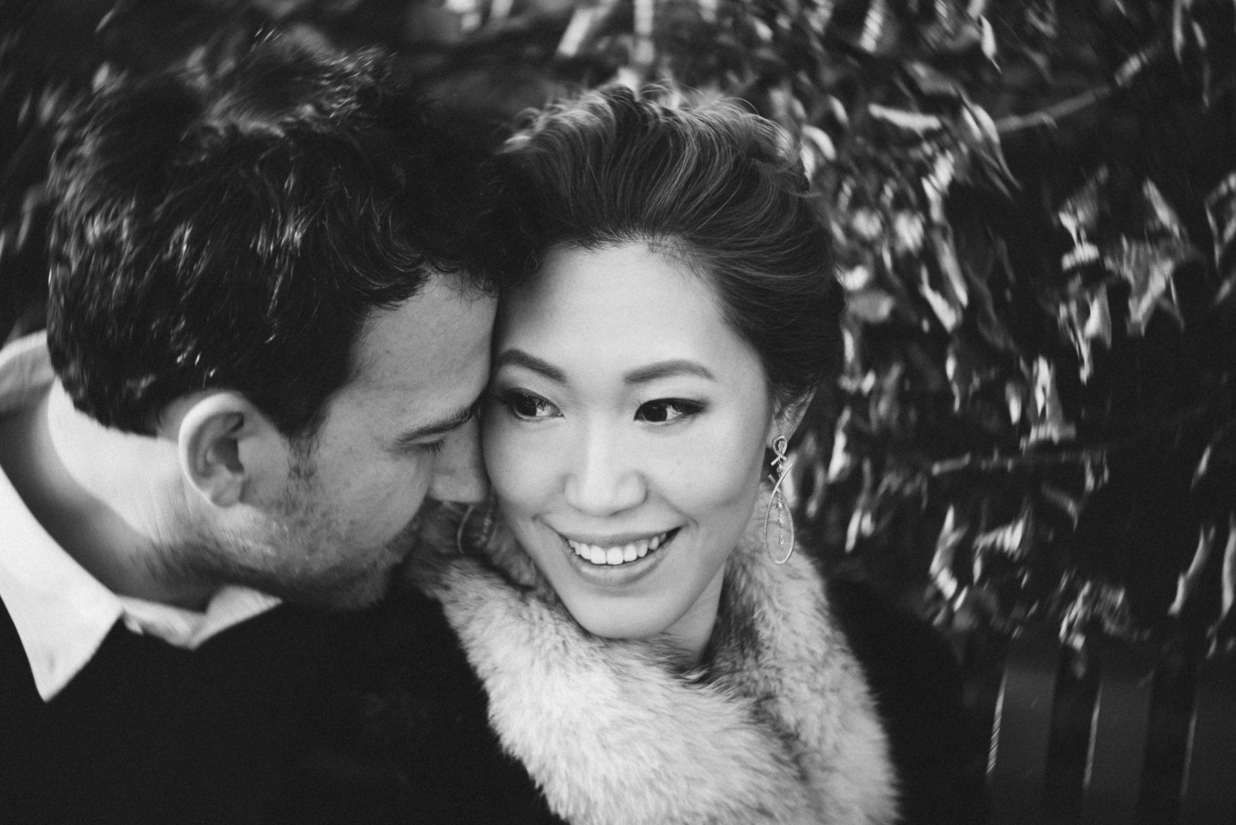 New York Botanical Garden engagement session