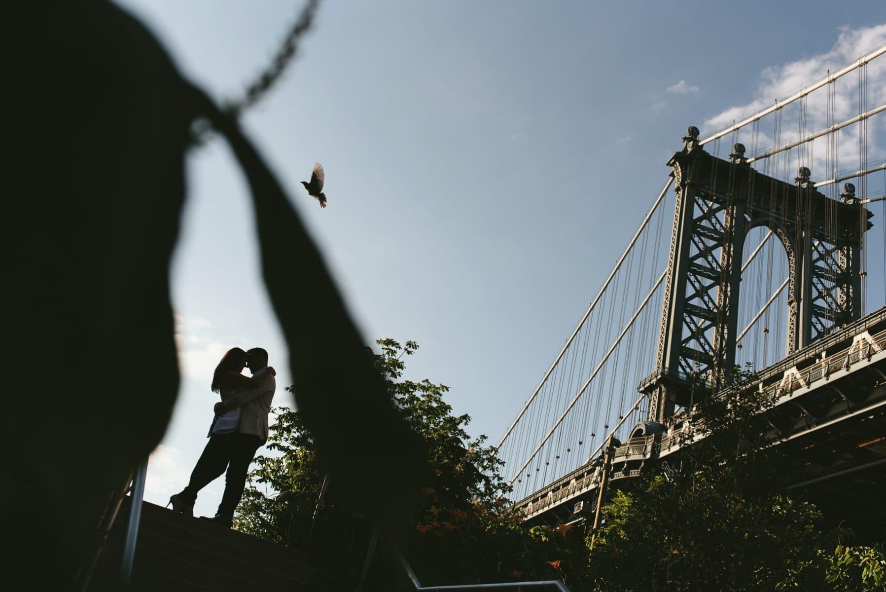 Dumbo engagement photos