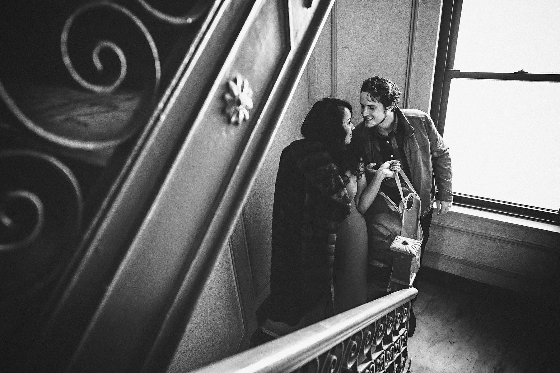 engagement session Manhattan NYC Soulmates Studio