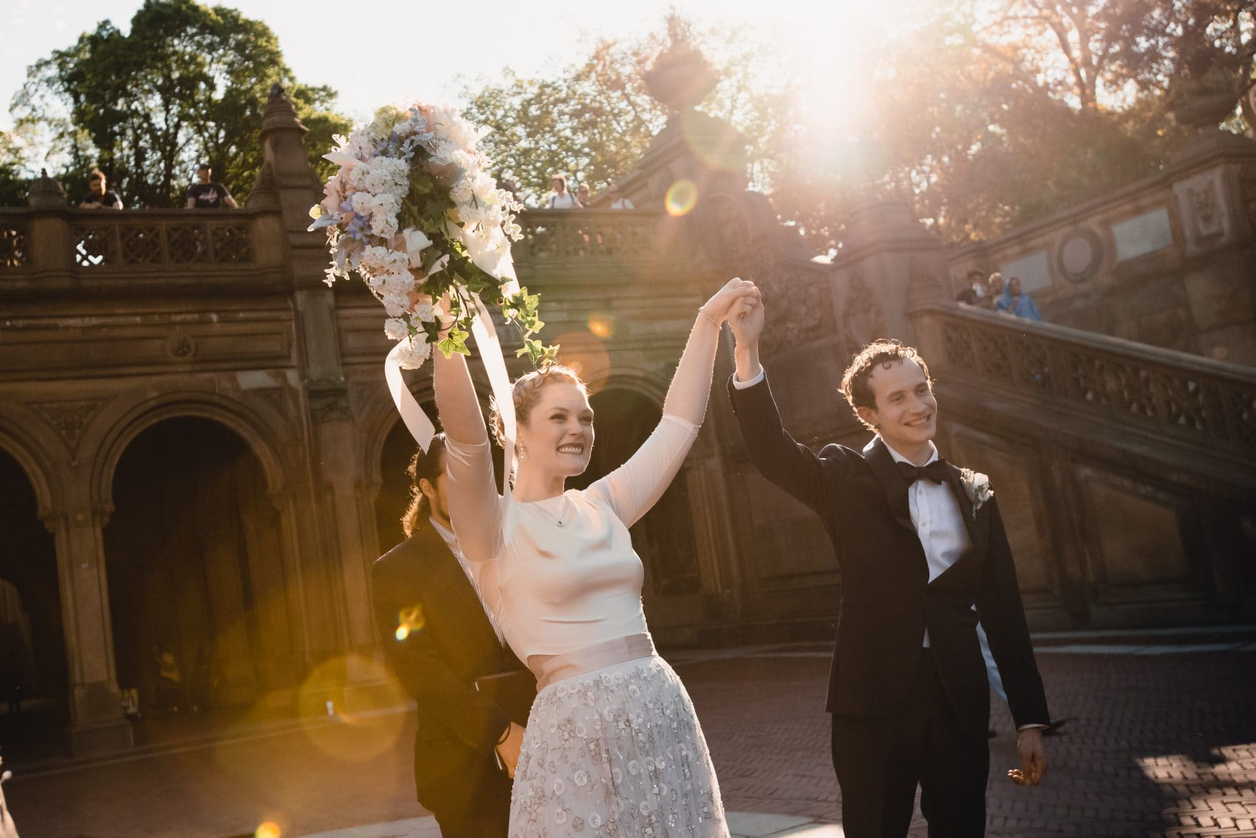 Central Park Elopement Wedding photos