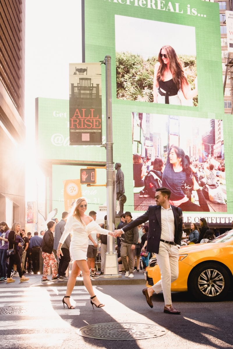 NYC Times Square Elopement photographer