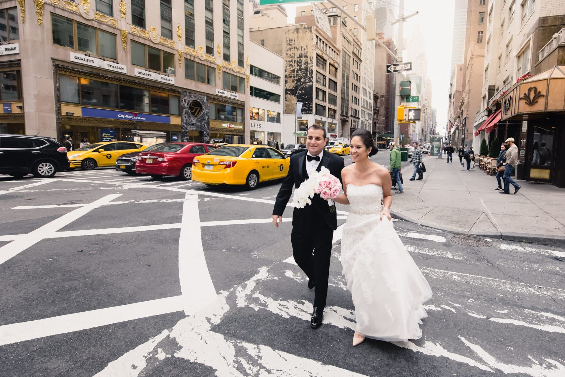 New York City Elopement Wedding