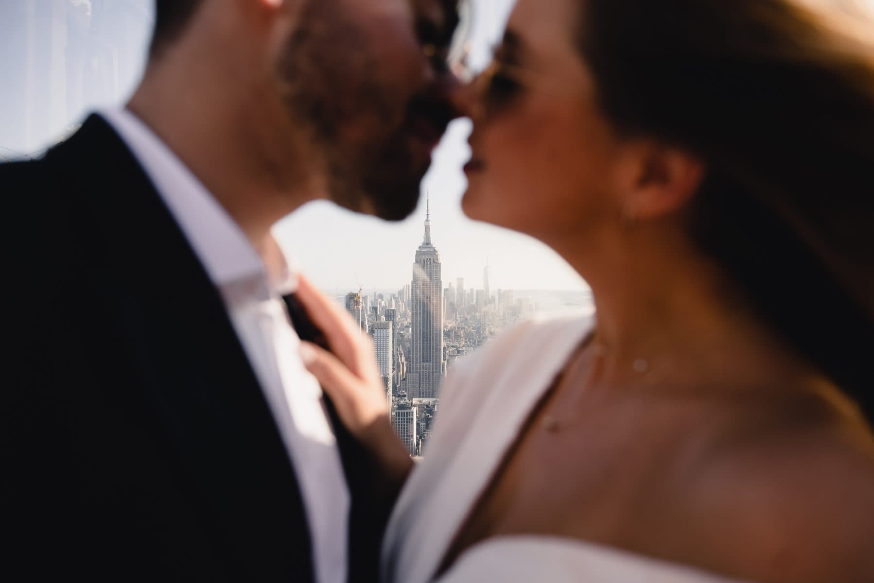 Top of the Rock elopement photographer