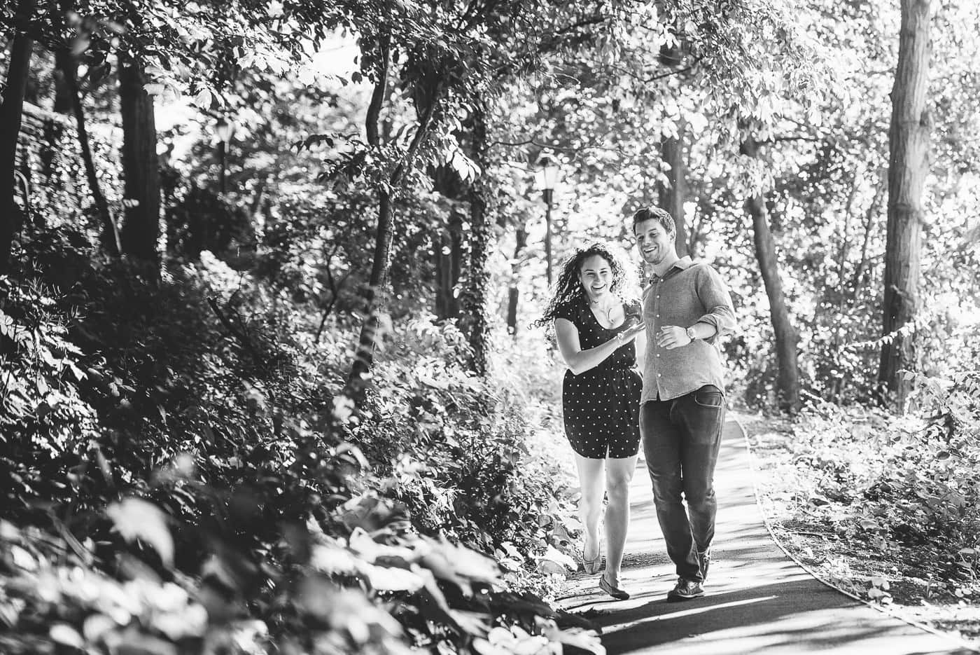 Fort Tryon Park engagement
