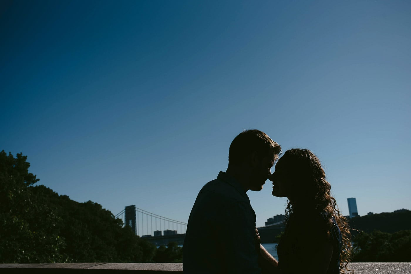 Fort Tryon Park engagement session