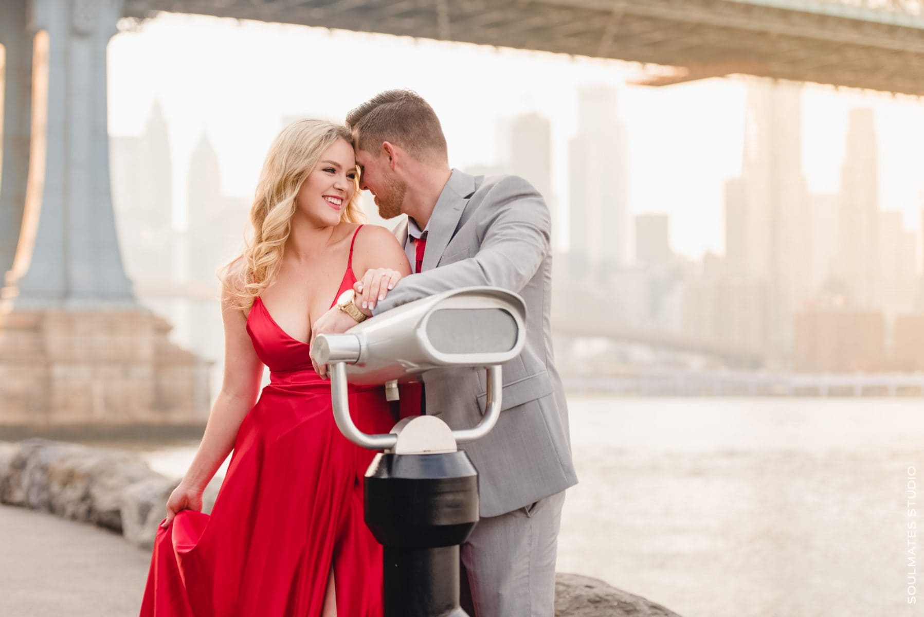Candid, Natural Moments during New York engagement