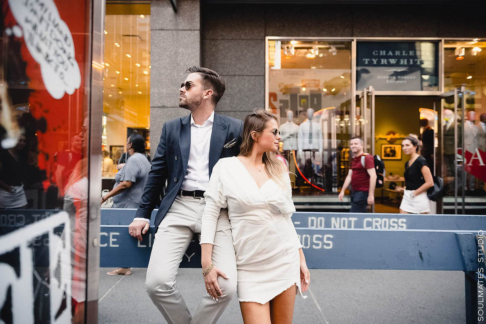 Times Square Couples Engagement