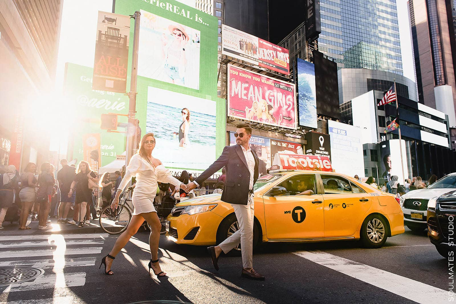 NYC Times Square Iconic Engagement location