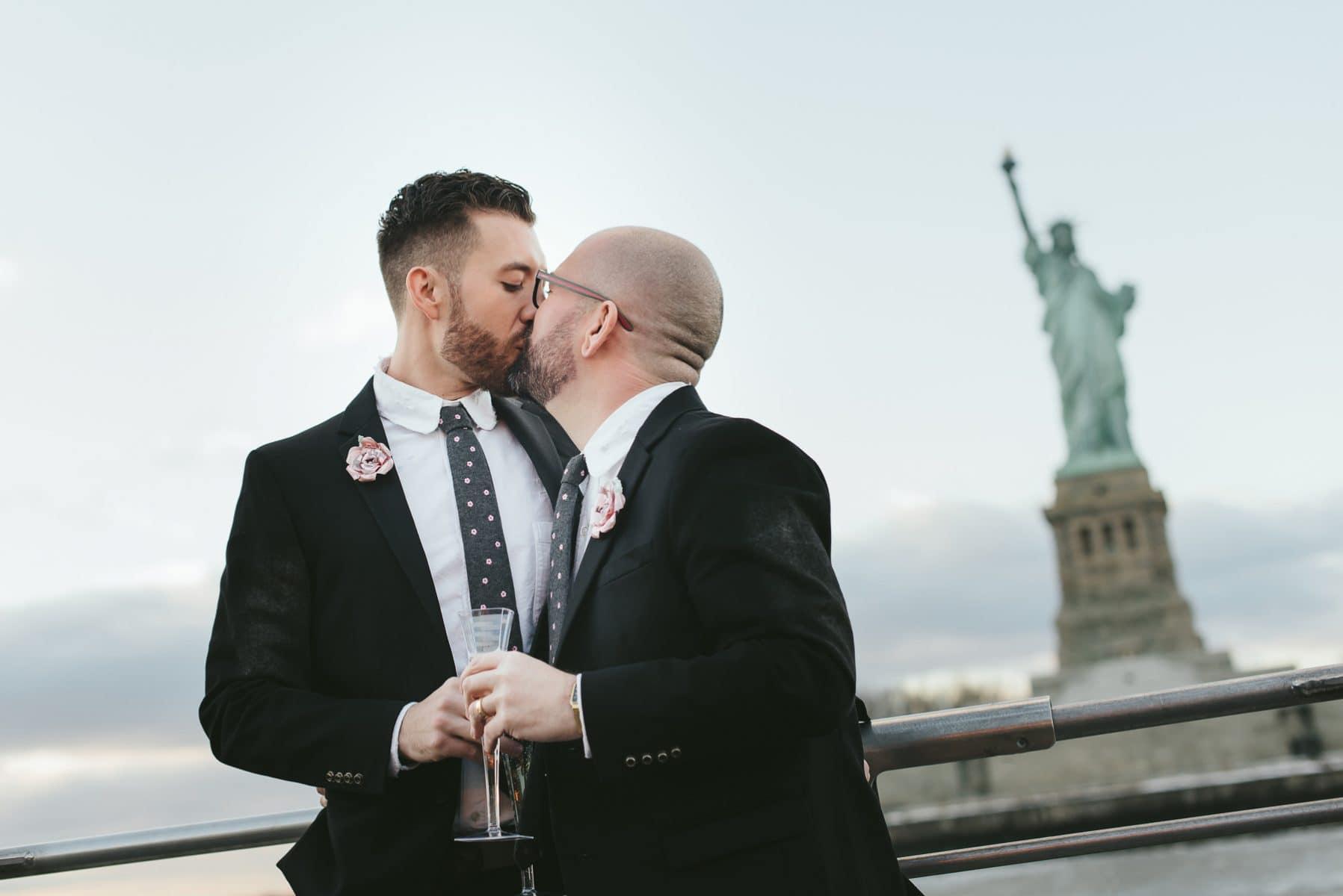 Manhattan same sex wedding