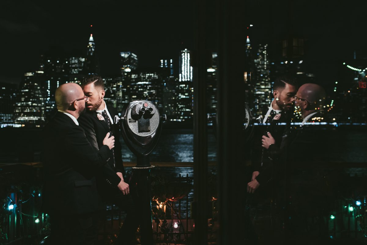 The River cafe wedding