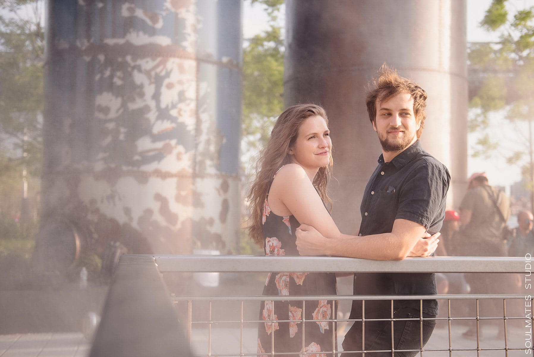 Domino Park Engagement Session