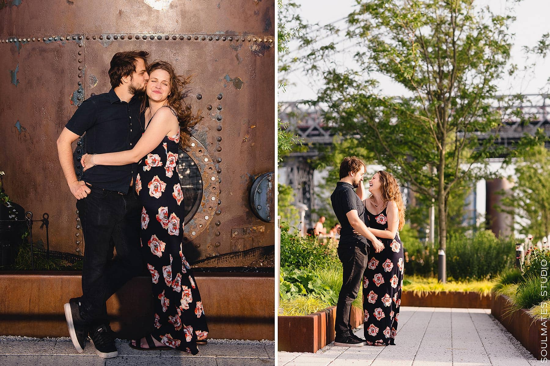 Domino Park Engagement love